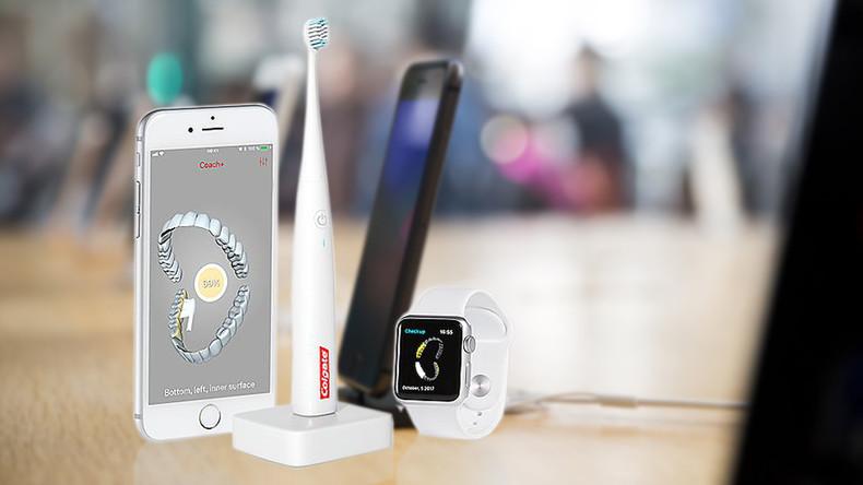 Von wegen iPhone: Apple und Colgate bringen gemeinsame Zahnbürste auf den Markt