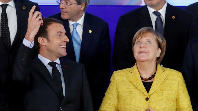 LIVE: Kanzlerin Merkel und Präsident Macron treffen sich in Paris: Ankunft und Pressekonferenz