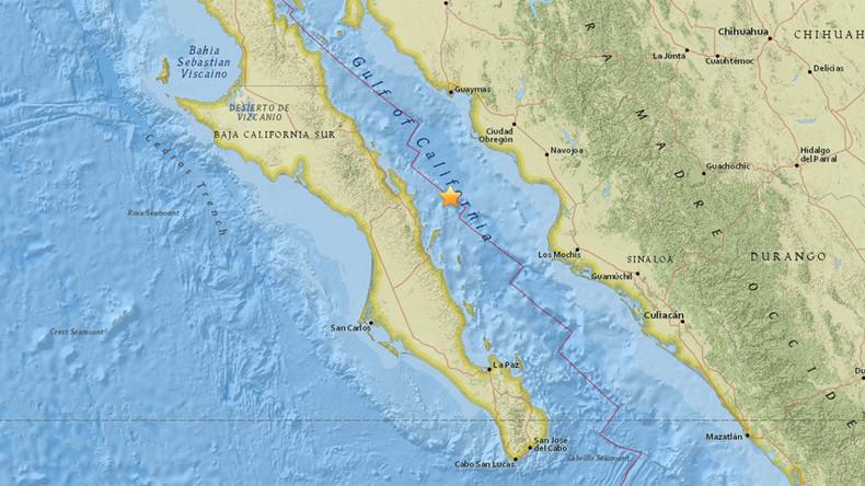 Schweres Erdbeben sucht Nordwesten Mexikos heim