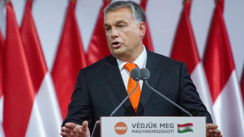 Ungarischer Premier Orban droht US-Milliardär George Soros mit Aufenthaltsverbot