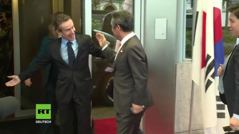 """IOC-Präsident Bach erwartet ein """"konstruktives Treffen"""" mit Nordkorea"""