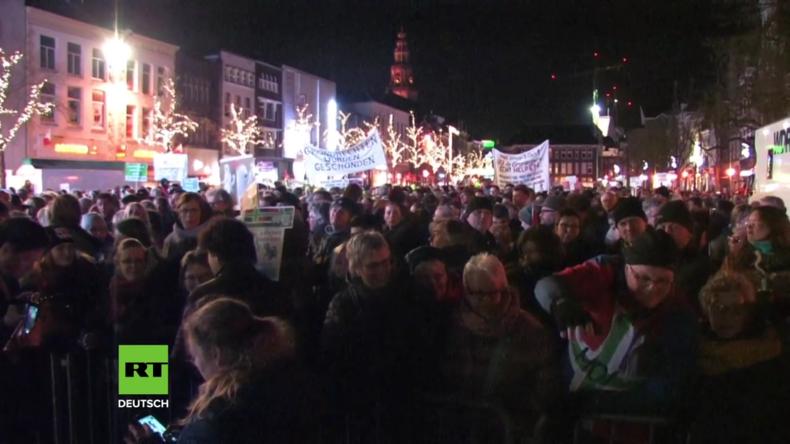 Niederlande: Tausende wütend über Beben wegen Gasbohrungen