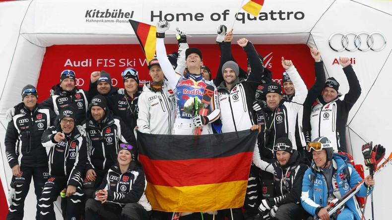 Erster deutscher Streif-Champion seit 39 Jahren - Skirennfahrer Dreßen holt Triumph in Kitzbühel