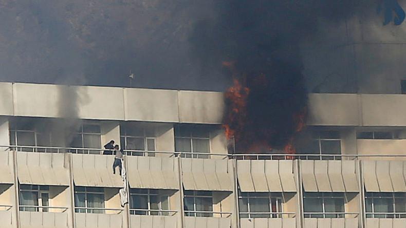 Mindestens zehn Tote nach Angriff auf Hotel Intercontinental in Kabul