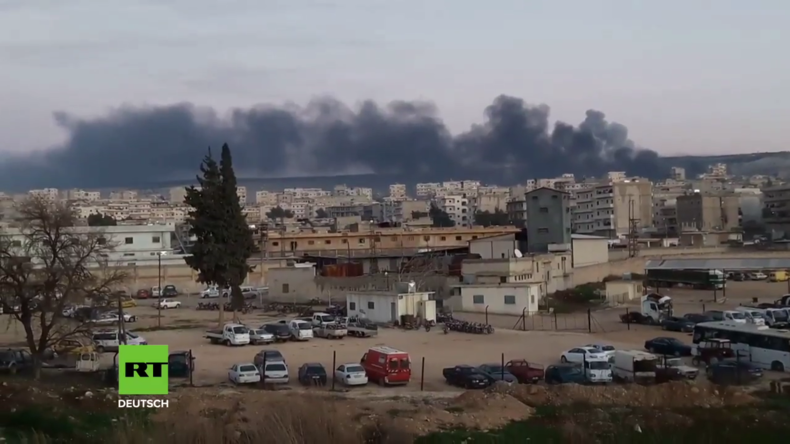 Türkische Offensive in Afrin: Erste Bilder aus dem Kampfgebiet