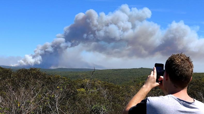 Hunderte Menschen vor Buschbrand im Nationalpark bei Sydney gerettet