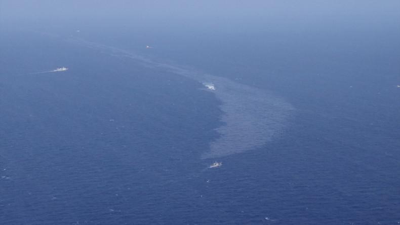 Ölteppich nach Tanker-Unglück vor Chinas Küste verdreifacht