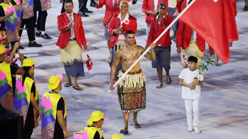 Ziemlich anpassungsfähig: Sportler aus Tonga macht bei Olympischen Sommer- und Winterspielen mit