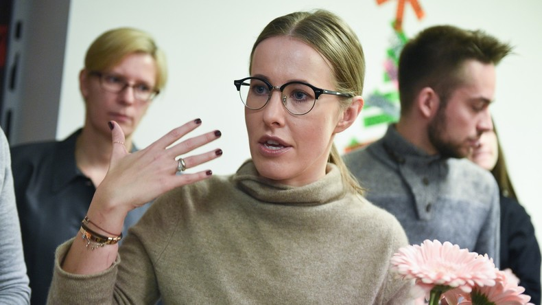 Präsidentschaftswahl 2018: Xenia Sobtschak sammelt ausreichend Unterschriften für Wahlantritt