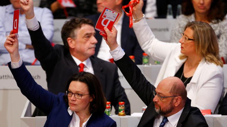 Nach JA zur erneuten GroKo: Die alte Tante SPD macht sich auf den Weg zum Hospiz