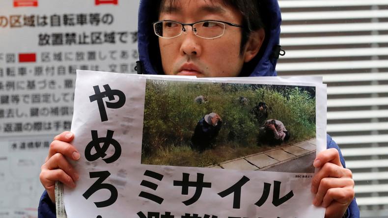 Gegen Nordkoreas Raketen: Japan sensibilisiert Bevölkerung mit Katastrophenübungen