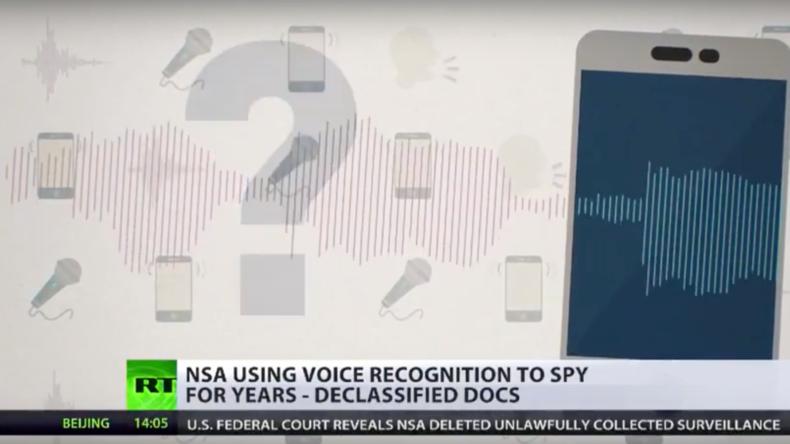 Kein Entkommen: NSA-Software kann Menschen mittels ihrer Stimme lokalisieren [Video]