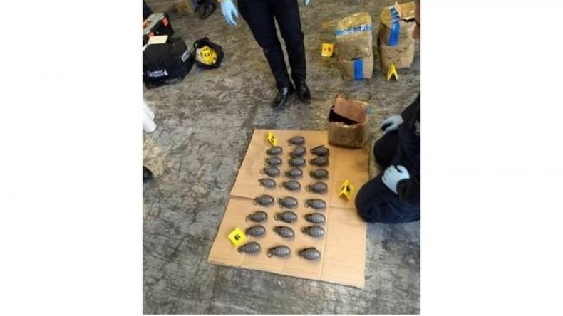 Postsendung mit 1.960 Handgranaten in Mexiko beschlagnahmt