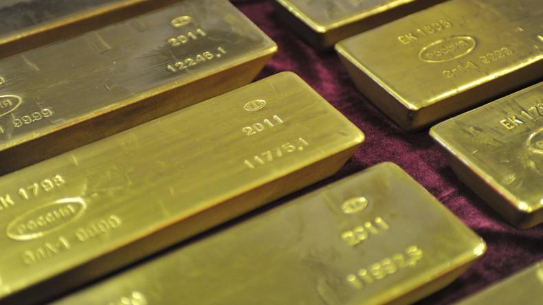 Russische Goldreserven erreichen historischen Höchststand und nähern sich zweitausend Tonnen