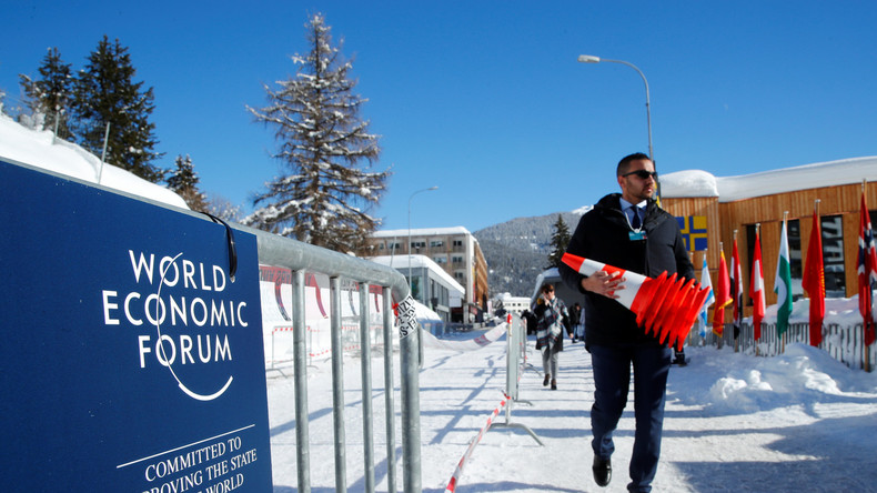 Weltwirtschaftsforum in Davos: Die reiche Elite macht auf Gerechtigkeit [Video]