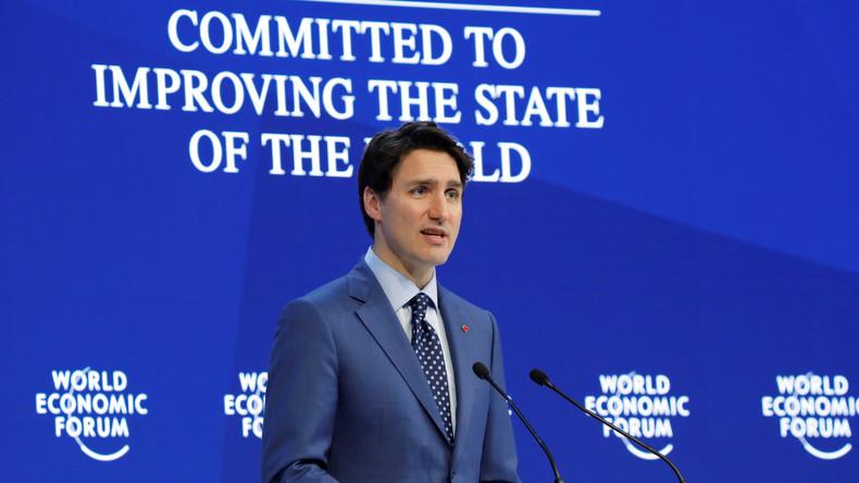 LIVE: Das World Economic Forum 2018 startet in Davos - Ansprache von Justin Trudeau