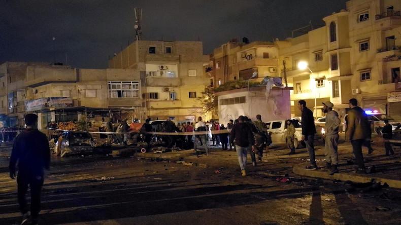 Doppelanschlag in Libyen:  Mindestens 27 Tote und zahlreiche Verletzte