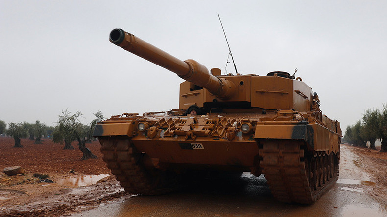"""""""Dem Spielchen ein Ende setzen"""": Erdoğan droht mit Offensive auf US-besetztes Manbidsch"""