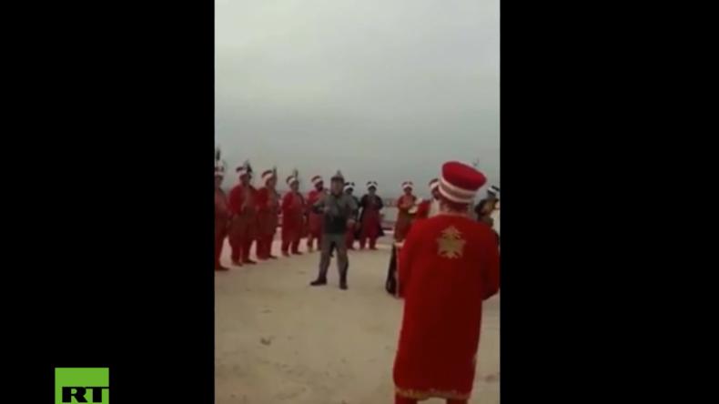 Türkei veranstaltet Konzert: Osmanische Kriegsmusik für Soldaten im Kampfeinsatz um Afrin