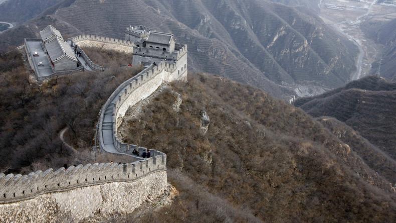 China will eine neue Große Mauer errichten