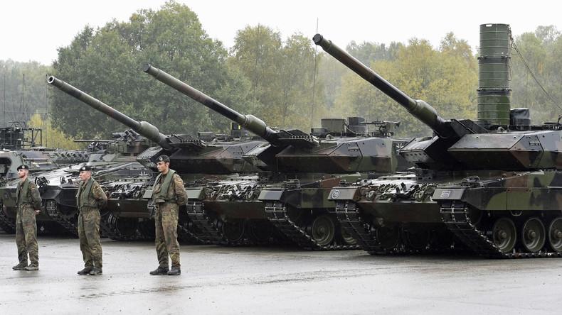 Deutschland: Noch nie gingen so viele Rüstungsgüter in Spannungsgebiete