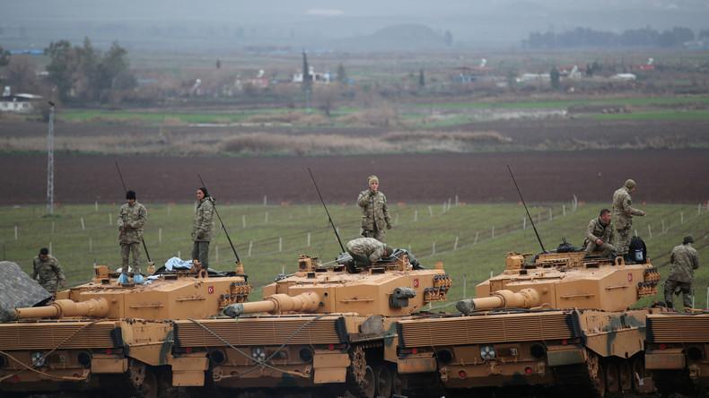 Türkische Offensive gegen Kurden: Deutsche Panzer als Speerspitze [Video]