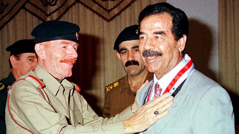 Liebesroman, den Saddam Hussein geschrieben haben soll, auf Amazon erhältlich