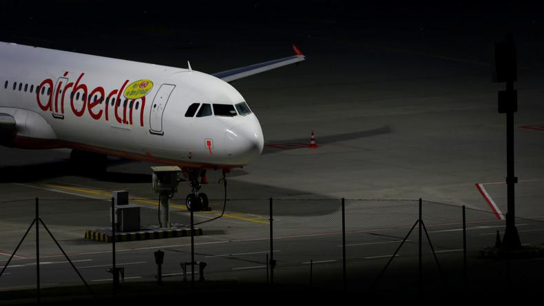 Air-Berlin-Pleite kostet Staat bis zu 200 Millionen Euro
