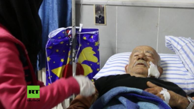 Syrien: Kinder und Senioren unter Verwundeten bei türkischen Luftangriffen in Afrin