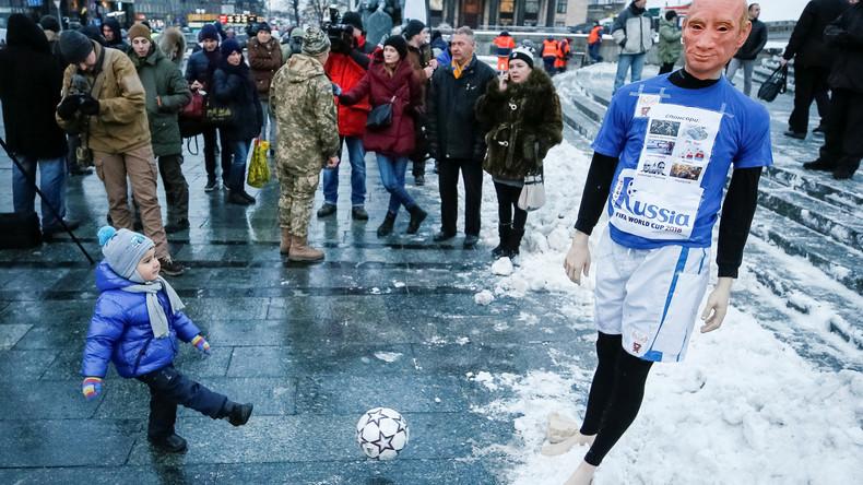 Auch als Nicht-Teilnehmer: Ukraine betreibt Lobbyismus für Boykott der Fußball-WM-2018 in Russland