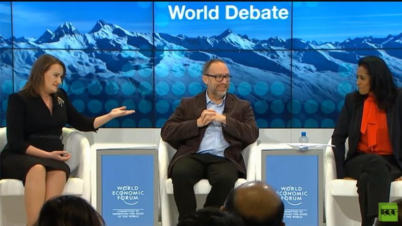 Davos: Massenvernichtungswaffen im Irak keine Fake-News - aber RT schon, weil die USA es so sagen