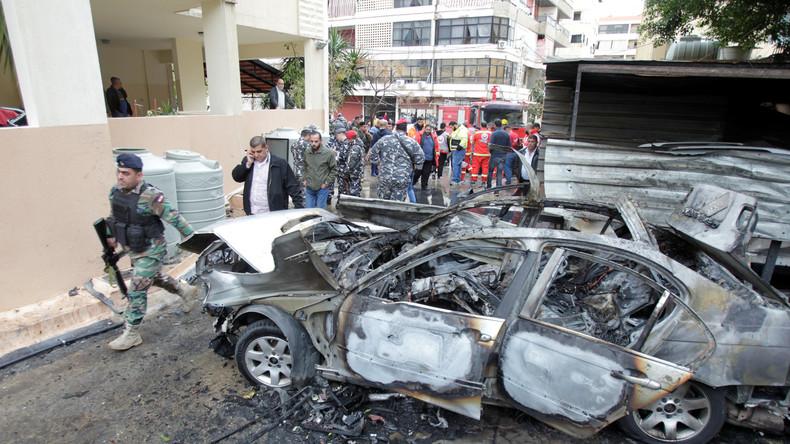 Fehlschlag: Mossad-Agenten zünden Autobombe im Libanon und fliegen auf