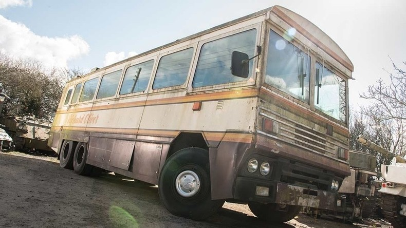 Gepanzerter Bus von Margaret Thatcher steht zum Verkauf