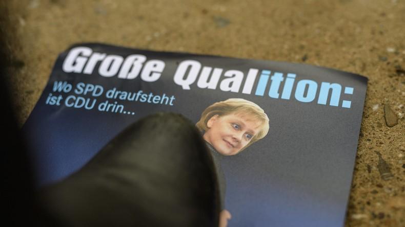 """Große Koalition: CDU, CSU und SPD wollen nun """"zügig, aber sorgfältig verhandeln"""""""