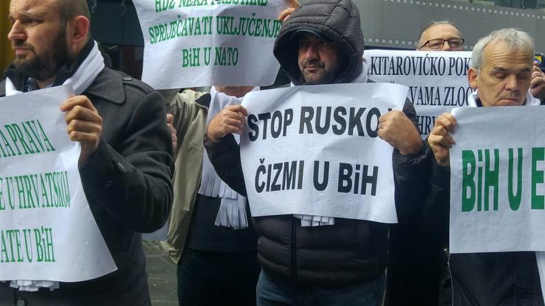 """""""Kroatien stützt Einfluss Moskaus"""": Bosnische Islamisten entdecken Russophobie als Agitationsthema"""