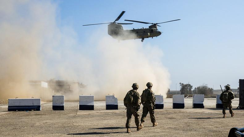"""US-Hubschrauber töten """"versehentlich"""" Verbündete bei Einsatz im Irak"""