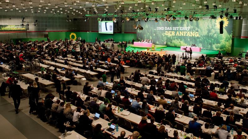 Grünen-Parteitag wählt Habeck und Baerbock als Vorsitzende