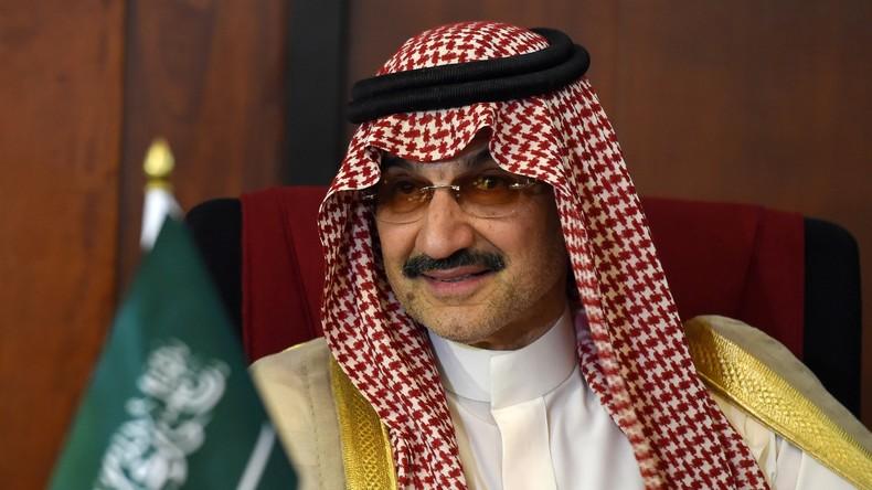 Saudischer Milliardär und Prinz Alwaleed bin Talal aus Arrest entlassen