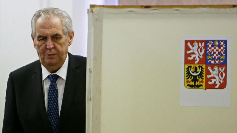 Tschechischer Präsident Zeman wiedergewählt