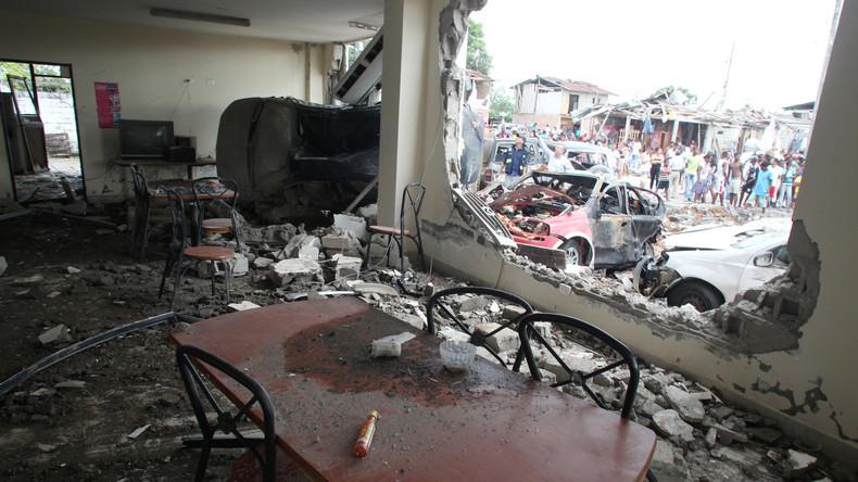 Ecuador verhängt Ausnahmezustand nach Autobombenanschlag auf Polizeiwache – fast 30 Verletzte