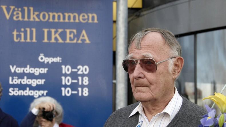 IKEA-Gründer Ingvar Kamprad im Alter von 91 Jahren gestorben