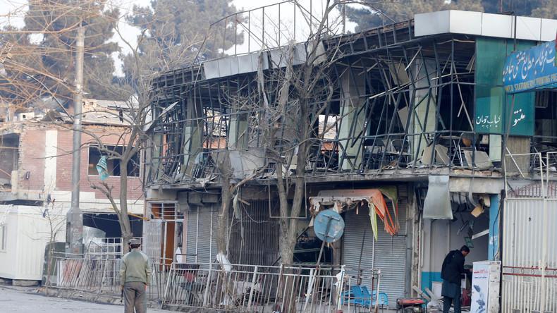 Zahl der Todesopfer bei Taliban-Anschlag in Kabul steigt auf 103