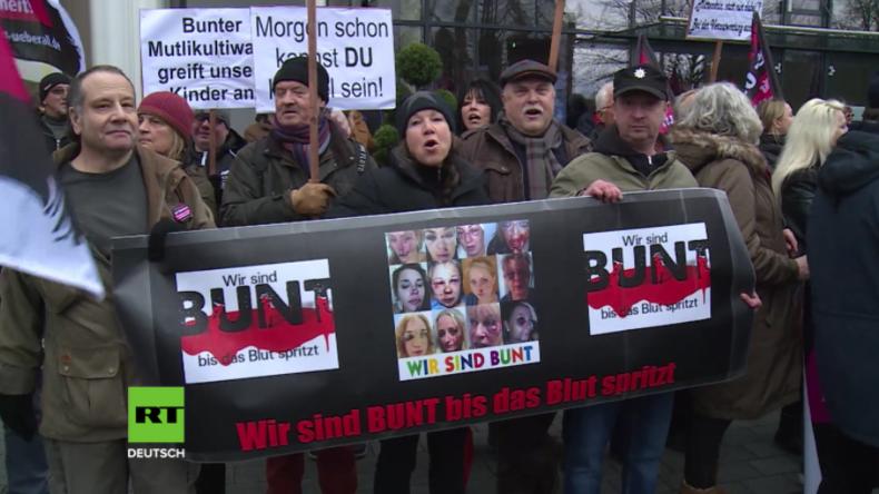 Kandel: Nach Mord an Mia - Hunderte marschieren gegen Multi-Kulti und für Sicherheit