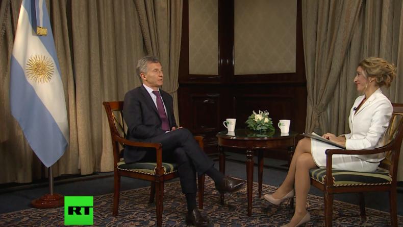 """Exklusiv-Interview mit Argentiniens Präsidenten Macri: """"Strategische Partnerschaft mit Russland"""""""