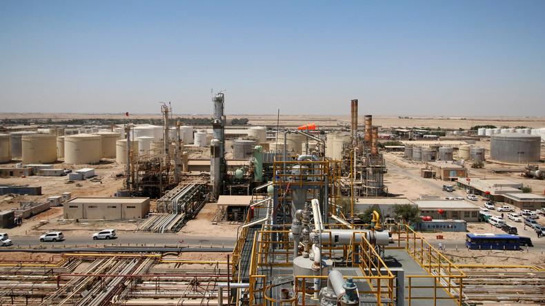 Der Irak baut mit chinesischen Unternehmen Ölraffinerie im Süden des Landes