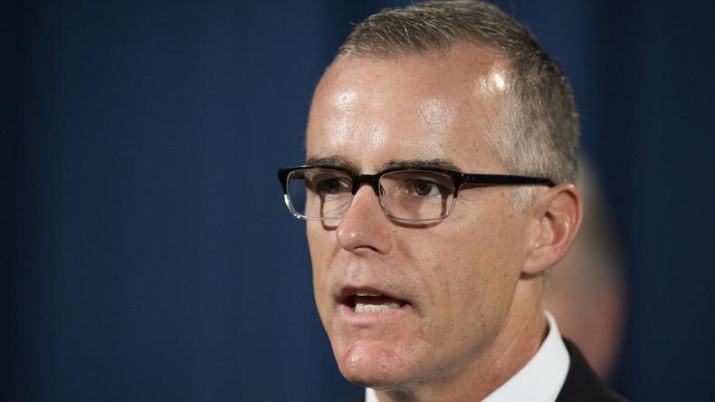 FBI-Vizechef Andrew McCabe tritt zurück