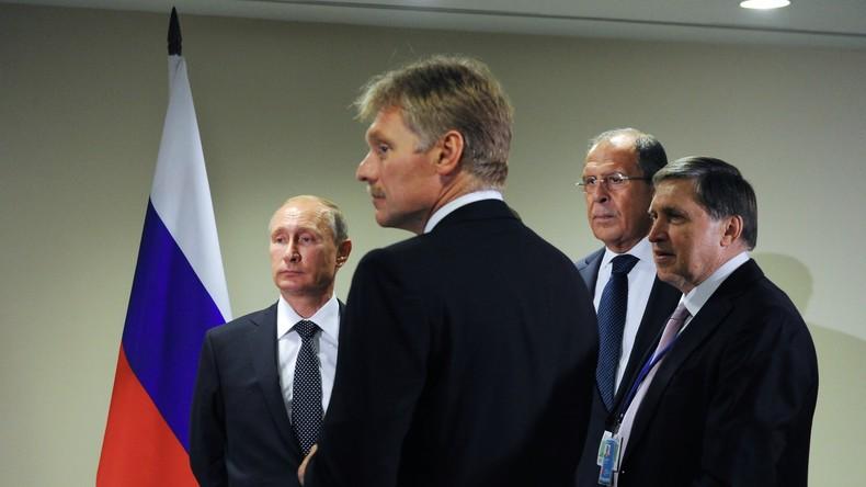 """US-Regierung veröffentlicht """"Kreml-Bericht"""" mit Listen prominenter Politiker und Oligarchen"""