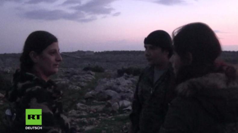 """Wir werden unser Volk beschützen"" - Kurdinnen zeigen sich kampfbereit gegen Afrin-Offensive"