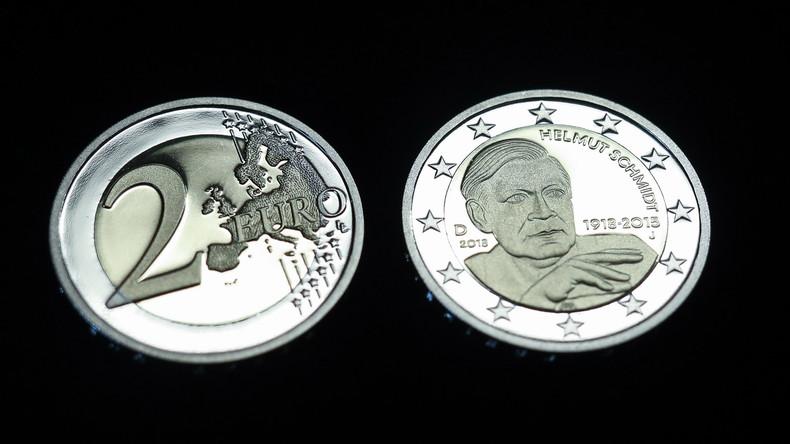 Auf einen Einkauf mit Helmut Schmidt: Neue Zwei-Euro-Münze im Umlauf