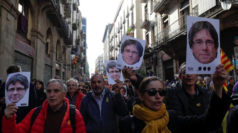 Wahl von Puigdemont verschoben: Unabhängigkeitsbewegung kritisiert Madrid